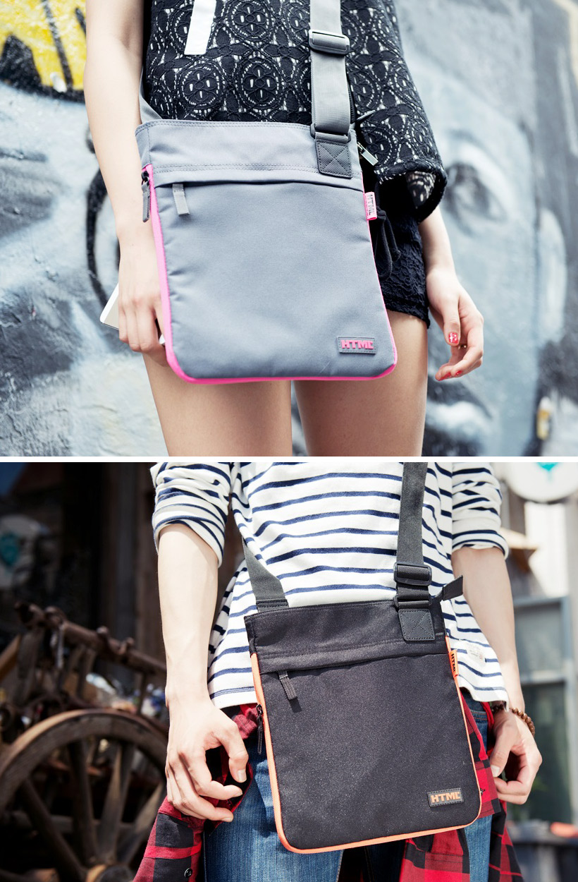 [에이치티엠엘]HTML- I4 PLATINUM Crossbag (BLACK)