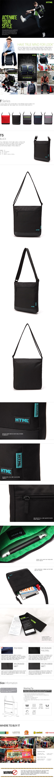 ★세탁쿠폰증정★[에이치티엠엘]HTML-NEW T5 Crossbag ( Black )