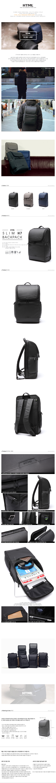 [에이치티엠엘]HTML - Slim H7 Backpack (BLACK) 백팩