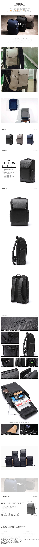 [에이치티엠엘]HTML - Slim U7 Backpack (BLACK) 백팩
