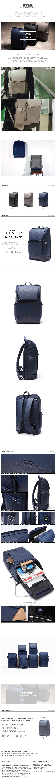 [에이치티엠엘]HTML - Slim U7 Backpack (NAVY) 백팩