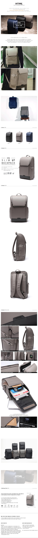 [에이치티엠엘]HTML - Slim U7 Backpack (DK.GRAY) 백팩