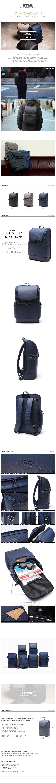 [에이치티엠엘]HTML - Slim H7 Backpack (NAVY) 슬림 백팩 비즈니스 신학기 가방