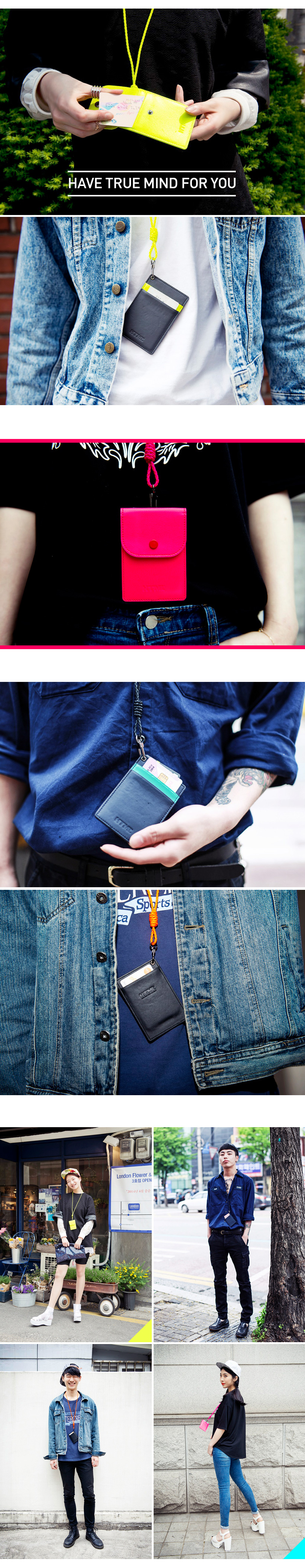[에이치티엠엘]HTML- Basic Card Holder (NAVY)