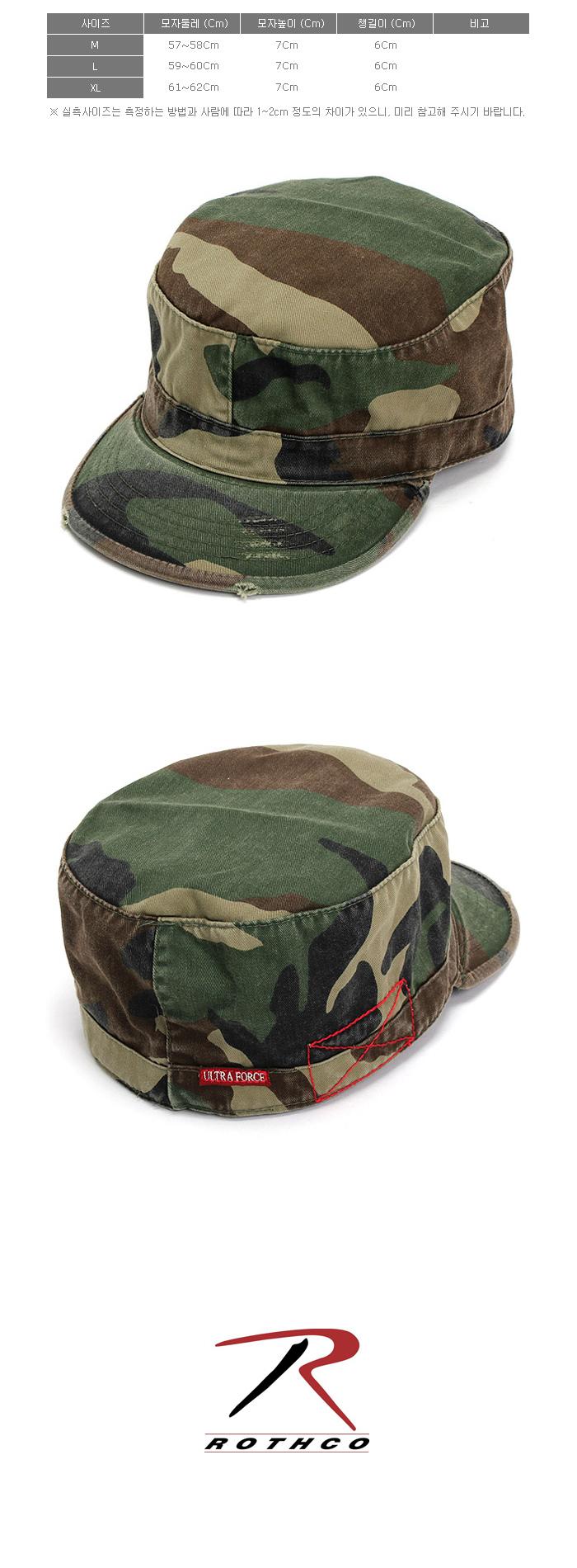 VINTAGE CAMO FATIGUE CAP