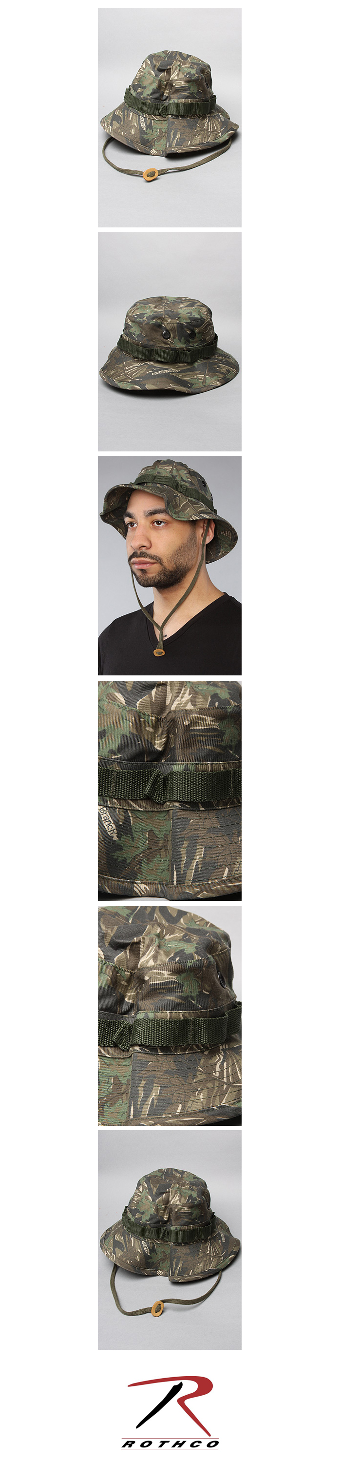 SMOKEY BRANCH CAMO BOONIE HAT