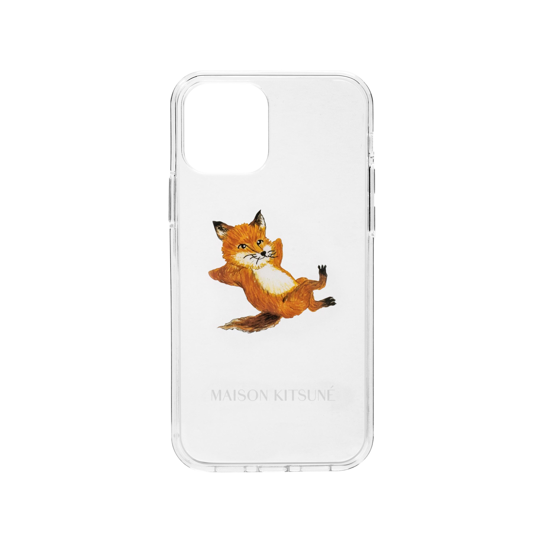[네이티브 유니온 x 메종키츠네] CHILLAX FOX CASE CLEAR (IPHONE 12 MINI)